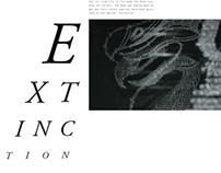 Artist Book - The Last Supper - Extinction
