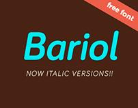 bariol italic
