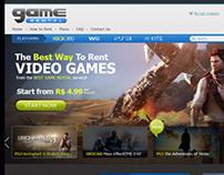 Game Rental website