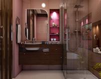 Interior Renders (Child Bathroom)