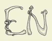 Entangled typeface