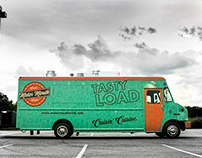 Motor Mouth Food Truck branding