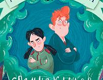 "Cover for the book ""Магнус Миллион и Спальня Кошмаров"""