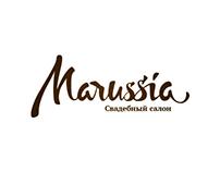 Стиль для свадебного салона «Marussia»