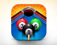 Billiard IOS Icon