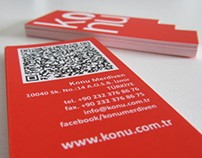 Konu | Business Card Design