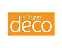 Octogon DECO magazine design