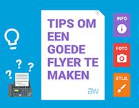 ✍️ Blog - Tips om een goede flyer te maken