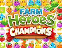 Farm Heroes Champions - Animation and FX - King