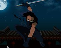 Ninja #1. Illustration
