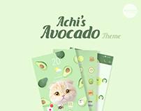 Achi's Avocado Theme