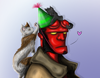 A Happy Hellboy Birthday