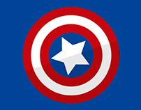 Súper Héroe - Capitán América