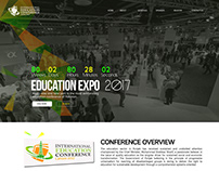 Website Design for Education Expo 2017 Lahore
