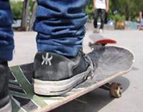 Skating in Argentina