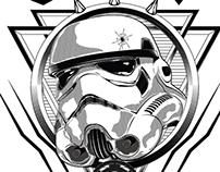 Stormtrooper Illustration