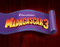 El Tren del Circo de Madagascar 3 para GLRP