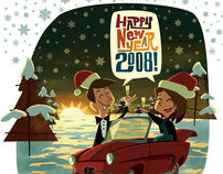 Happy new year 2008 - Elefant Records