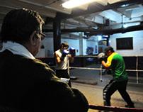 Boxing in Constitución Station