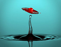 Water drop series