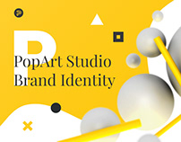 PopArt Studio / NEW Self-Brand Identity 2018