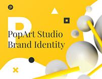 PopArt Studio / NEW Self-Brand Identity 2018