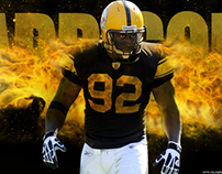 James Harrison - Steelers Wallpaper
