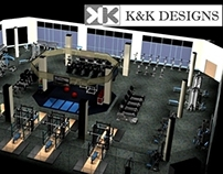 Sample 3D Fitness Center Renderings