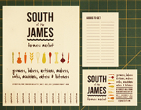 South of the James Farmers Market Branding