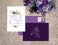Disney Wedding Stationary