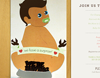 Belmont Baby Shower Invitation