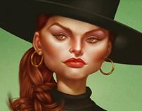 Hat Girl Portrait