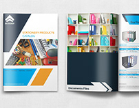 Stationery Products Catalog Brochure Template Vol.2 - 2