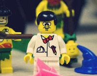 A Lego Vinyl Battle
