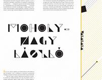 MOHOLY-NAGY LÁSZLÓ látás mozgásban / Vision in Motion