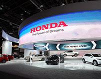 Honda Detroit Auto Show 2016