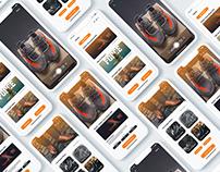 Shoe Shine - UI/UX Design | Concept | Service