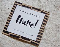 Halte ! - Fondation pour le Slow Design