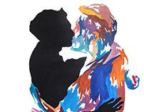 ONE // art exhibition // watercolors