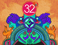 32 Degrees | Event Poster