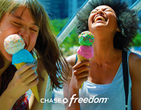 "CHASE FREEDOM: ""For The Fun"" Campaign // Social Media"