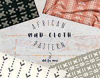 African Mud Cloth Inspired Pattern Collection