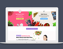 Sveltea- Ecommerce website design