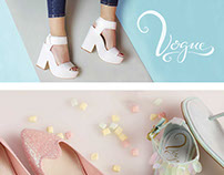 Vogue Footwear Branding