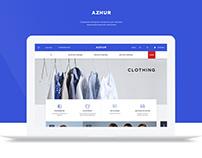 Azhur. Online store | UI/UX