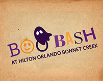 Hilton Orlando Bonnet Creek Halloween Event Pieces