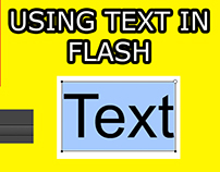 Learn How to Use Text in Flash/Animate CC