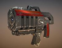 Marine Pistol - Realtime Model