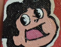 Steven Universe Canvas Magnet