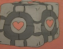 companion cube loves you